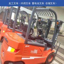 龙工7吨柴油叉车济南总代理 叉车操作性能优越
