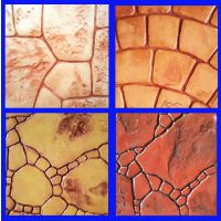 许昌压模地坪材料 彩色混凝土压花路面河南 桓石压印地坪材料工程 彩色印模混凝土