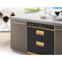 九尔美家用消毒柜台式碗柜 不锈钢-二星级钢化玻璃版面-ZTD-JEM-01