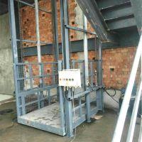 内蒙古工厂直销导轨式升降平台 液压式升降货梯 3吨提升机
