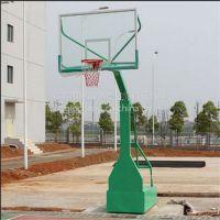 东莞室内仿液压篮球架 学生带配重箱篮球架 儿童箱式移动篮球架