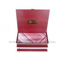 科威特精装礼盒阿拉伯高档丝光棉头巾 Arabian mercerized cotton scarf