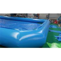 亚图卓凡充气泳池户外成人儿童水上乐园充气水池 游泳涉水运动 环保pvc厂家直销 场地游艺设备可定做