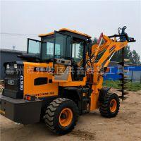 新款大马力钻地机 电线杆挖坑机 单人手提挖坑机生产厂