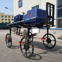 物流发货 大型液压自走式打药机 25马力两驱柴油喷药车 高杆作物四轮喷雾机