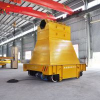 巩义40吨摆渡轨道车 电动平台摆渡车 直流平板车实力厂商