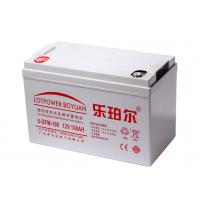 乐珀尔6-GFM-100蓄电池12v100AH铅酸蓄电池ups应急不间断电源系统