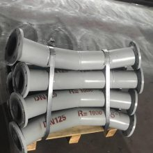 上海输灰45°耐磨弯头填充物厚度高达100px以上耐腐蚀耐磨