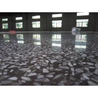 南山厂房水磨石地面起灰尘怎么处理、车间水磨石地面硬化无尘处理