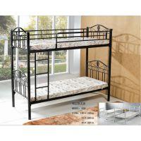 顺德厂家定制上层床|生产款式新颖|稳定性强军用单人床|双层组合铁床