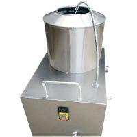 摩擦小型新款电动去皮机 食品厂专用削皮机商用马铃薯去皮机