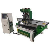 济南数控木工加工中心 1325四工序木工雕刻机的价格 木板开料