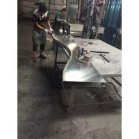 弧形铝方通 德普龙天花 为你定做铝方通吊顶