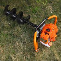 便携式小型土地挖土机 电线杆挖坑机 多功能植树挖坑机视频