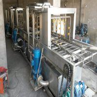 隧道式风干式洗筐机厂家 康汇机械全自动洗筐机