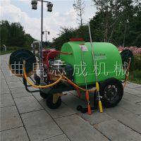 志成厂家直销推车式机动打药车农药喷雾机远射程高压喷雾机