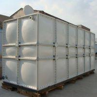 专业生产SMC组合式水箱玻璃钢模压水箱