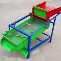 薏米选种风选振动筛选机 双层振动筛筛选机电动清理粮食的筛子机