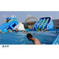 湖南长沙各种好玩的水上游乐设备支架水池如此赚钱?