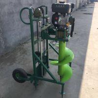 汽油钻树窝子机 水泥桩打坑机 春季热销的汽油挖坑机富兴