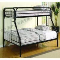 上下铺床 金属床 高低子母床 双层床 简约款组合子母床港文厂家直销
