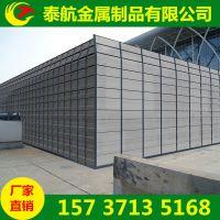 河南郑州高架桥声屏障 小区冷却塔隔音墙降噪 泰航吸音板生产厂家