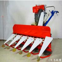 青储玉米割晒机 润华 手扶车带割晒机 新型打捆收割机