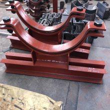 齐鑫厂家直销Z3管夹滑动支座 Z5滑动支座 聚四氟乙烯底板
