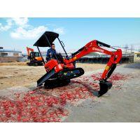 小型挖掘机型号大全 农用果园小挖机价格