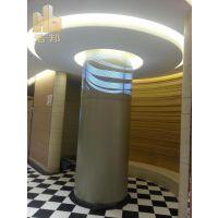 供应弧形包柱铝单板 造型柱子铝单板