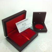 东莞市金币盒生产厂家定制高档木制烤漆纪念金币木盒