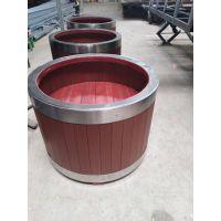 供应品旺PVC塑木花箱HX-042