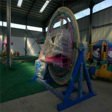 三维太空环游乐设备可移动旋转趣味儿童成人暖场创意游戏活动道具