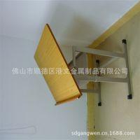 厂家自产自销桌椅 学校美术课桌椅 金属学生美术桌椅