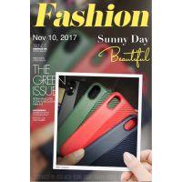 iPhone8手机壳 苹果6s/7 plus创意硅胶保护套碳纤维拉丝纹防摔壳