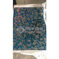 304彩色不锈钢蚀刻线条装饰板,不锈钢蚀刻板,不锈钢镜面喷砂蚀刻板