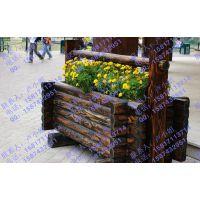韶关实木花箱,佛山路边木制花箱,柚木组合花箱,阳台山樟木花箱