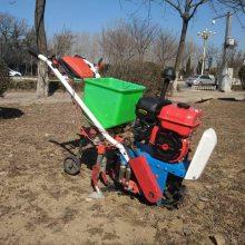 供应大棚苞米种植播种机 多功能家用小型施肥播种机 菠萝地开沟培土机