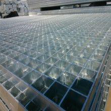 钢格板踏步重量 楼梯踏步板设计 镀锌格栅板厂家