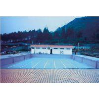 游泳池格栅盖板abs可转弯排水溢水沟塑料水槽三接口格栅水篦子