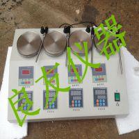 供应HJ-4AS四工位磁力搅拌器 恒速恒温磁力搅拌器 多头搅拌器