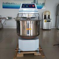 120升双速双动和面机 烘焙设备 两包粉搅拌机 食品面粉馅料加工设备