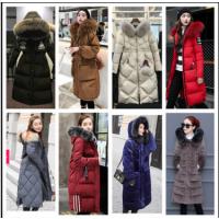 冬季女装外套棉服批发山西高平哪里找高档女装长款棉服日韩学生款面包服