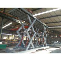 临沂升降机定做厂家 厂房5吨升降货梯安装 双剪叉式卸货平台 大型电动液压升降台