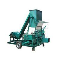 越盛肥料设备 高粱杆秸秆揉丝机 上海秸秆揉丝机