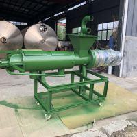 山东LQFLJ-180型号固液分离机 猪粪脱水处理机价格