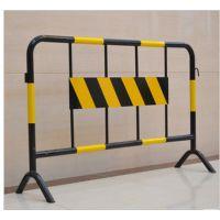 厂家直销四川攀枝花塑钢移动施工铁马隔离栏