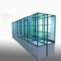 实验室标本柜 钛合金样品展示柜 非标定制标本陈列柜 陈列柜 禄米实验室设备