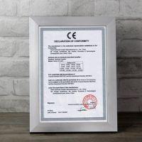 加工定制 亮光银色相框 A3 A4 营业 塑料证书框 尺寸定做可印logo