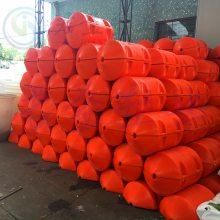 拉萨直径500滚塑加工单耳浮球 合肥航道警示浮标君益直销